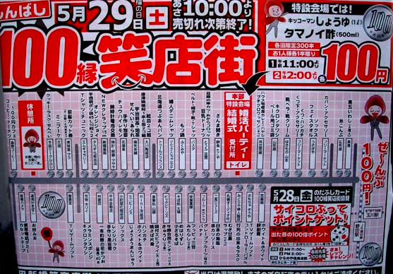 (大阪市・野田新橋筋商店街:個人ブログより)