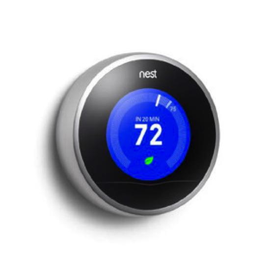 温度調節計(もはやこの呼名が正しいかも不明です…):Nest Learning Themostat