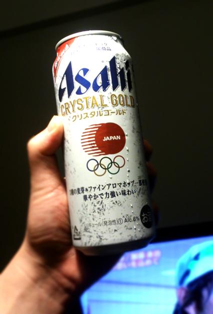 オリンピックとコラボビール