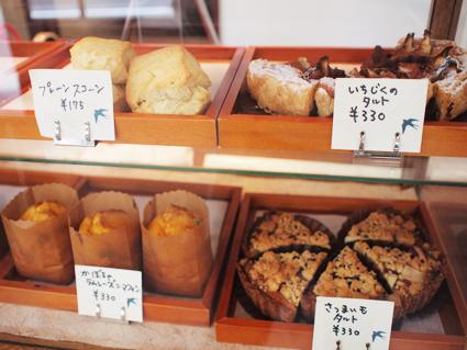 粉(小麦)の産地を使い分けたお菓子の数々